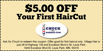 Village Hair Coupon St. Louis Park MN
